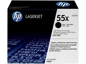 HP 55X (CE255X) High Yield Toner Cartridge 12500 Pages Yield&#59; Black