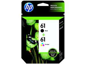 HP 61 (CR259FN) Ink Cartridge Combo Pack&#59; Black / Cyan / Magenta / Yellow
