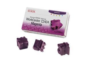 XEROX Genuine Xerox WorkCentre C2424 Solid Ink (3 Sticks) Magenta