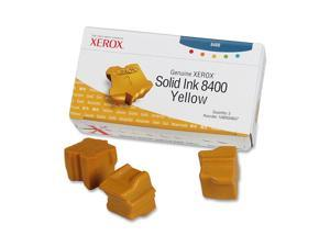 XEROX Solid Ink (Three Sticks) For Phaser 8400 Yellow