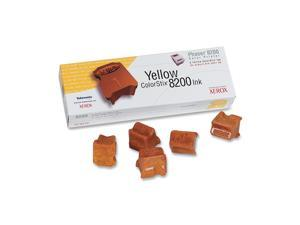 XEROX 016-2047-00 ColorStix Ink Sticks For Phaser 8200 Yellow