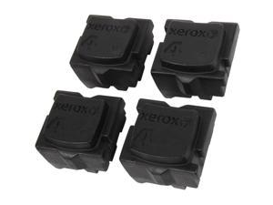 XEROX 108R00930 Genuine Solid Ink (4 sticks) Black for ColorQube 8570