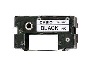 CASIO TR-18BK Ink Ribbon Tape Black