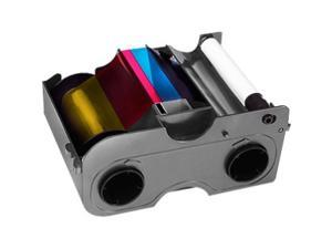 YMCKO Ribbon with Cleaning Roller - 250 Prints