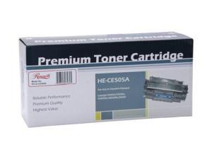 Rosewill RTCA-CE505A Black Universal Remanufactured Toner Cartridge - Replaces Canon 119 and HP 05A CE505A