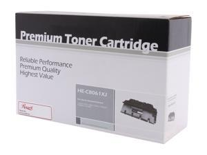 Rosewill RTCA-C8061XJ Black Replacement for HP C8061X(61X) Toner Cartridge Jumbo Yield 18,000 pages