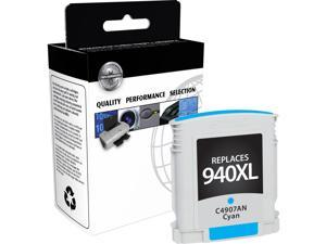 V7 Ink Cartridge - Replacement for HP (C4907AN) - Cyan