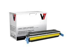 V7 Toner Cartridge - Remanufactured for HP (C9732A) - Yellow