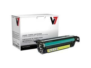 V7 THM2262A Replacement Toner Cartridge for HP CE262A (Yellow)