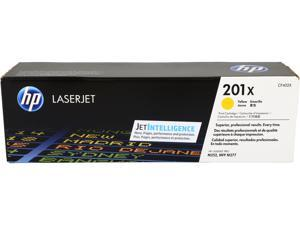 HP 201X Toner Cartridge, 2300 Pages Yield&#59; Yellow (CF402X)