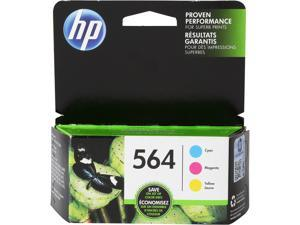 HP 564 (N9H57FN#140) Tri-Pack Ink Cartridges - Cyan/Magenta/Yellow