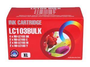 G&G RB-LC103 Combo 4Black2Cyan2 Magenta2Yellow Ink Cartridge