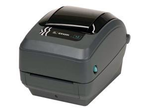 Zebra GX42-102510-000 GX420t Thermal Transfer Label Printer - USB/Serial/Parallel, Tear Off