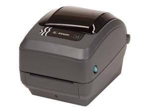 Zebra GX42-102511-000 GX420t Thermal Transfer Label Printer - USB/Serial/Parallel, Dispenser