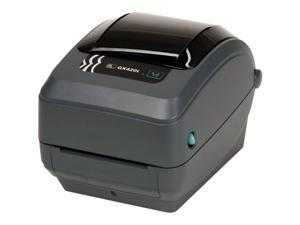 Zebra GX42-102411-000 GX420t Thermal Transfer Label Printer - USB/Serial/Ethernet, Dispenser