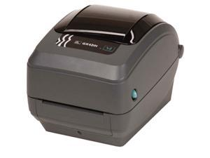 Zebra GX43-102511-000 GX430t Direct Thermal/Thermal Transfer Label Printer - USB/Serial/Parallel, Dispenser