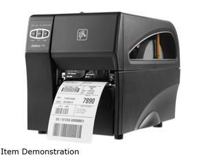 "Zebra ZT200 ZT22042-T01000FZ Direct thermal and Thermal Transfer (optional) 152mm/6"" per second 203 dpi (8 dots/mm) 300 dpi (12 dots/mm) Barcode Printer"