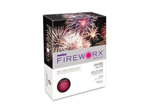 Boise FIREWORX Colored Paper, 24lb, 8-1/2 x 11, Roman Candle Red, 500 Sheets/Ream