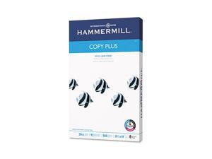 Hammermill Copy Plus Copy Paper, 92 Brightness, 20lb, 8-1/2 x 14, White, 500 Sheets/Ream