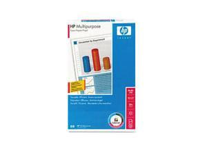 Hewlett-Packard Multipurpose Paper, 96 Brightness, 20lb, 8-1/2 x 14, White, 500 Sheets/Ream