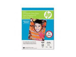 Hewlett-Packard Everyday Photo Paper, Glossy, 8-1/2 x 11, 50 Sheets/Pack