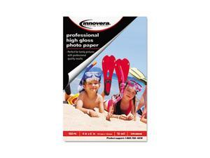 Innovera High-Gloss Photo Paper, 4 x 6, 100 Sheets/Pack