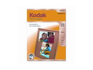 Kodak Photo Paper, 44 lbs., Glossy, 8-1/2 x 11, 25 Sheets/Pack