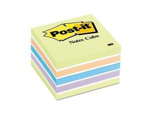 Post-it                                  Cube, 3 x 3, Pastel, 470 Sheets