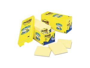 Post-it                                  Cabinet Pack, Pop-up Notes, 3 x 3, Canary Yellow, 18 90-Sheet Pads/Pack