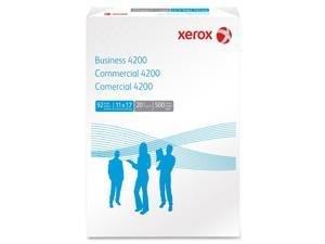 Xerox Business 4200 Copy Paper, 92 Brightness, 20 lb, 11 x 17, White, 500 Sheets/Ream