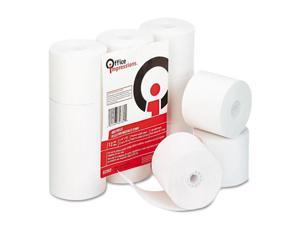 "Office Impressions Calculator Rolls, 2-1/4""w, 150'l, White, 12/Pack"