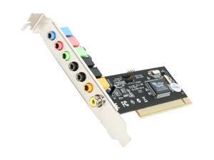 StarTech PCISOUND7 Digital Surround Sound Adapter Card - 24 bit