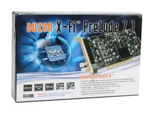 AUZEN Auzen X-Fi Prelude 7.1 Sound Card