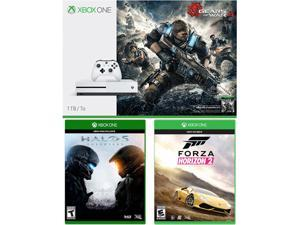 Xbox One S 1TB Console - Gears of War 4 Bundle with 2 Additional Games