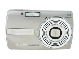 OLYMPUS Stylus 810 Silver 8 MP Digital Camera