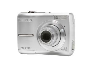 OLYMPUS FE-210 Silver 7.1 MP Digital Camera