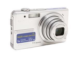 OLYMPUS FE-240 Silver 7.1 MP Digital Camera