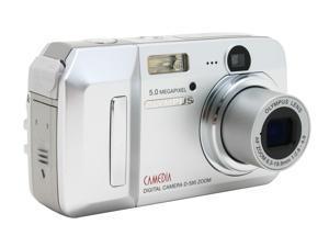 OLYMPUS D-595 Silver 5.0MP Digital Camera