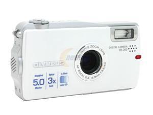 OLYMPUS IR-300 Silver 5.0 MP Digital Camera
