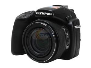 OLYMPUS SP-570 UZ Black 10.0 MP 26mm Wide Angle Digital Camera