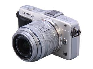 OLYMPUS FE-4020 Blue 14 MP 26mm Wide Angle Digital Camera