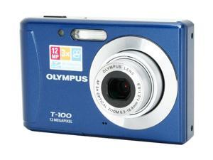OLYMPUS T-100 Blue 12 MP Digital Camera
