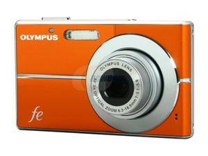 OLYMPUS FE-3010 Orange 12.0 MP Digital Camera