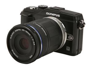 OLYMPUS  PEN E-PL2  Black  Digital Camera - 2 Lens Kit