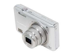 Olympus VG-160 Silver 14MP Digital Camera With HD Video