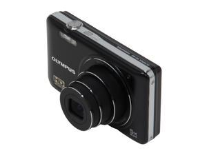 Olympus VG-160 Black 14MP Digital Camera With HD Video