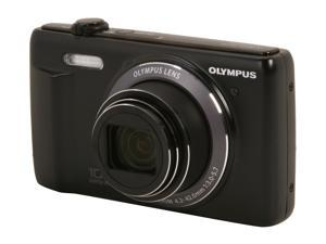 Olympus VR-340 Black 16MP Digital Camera with 10x Optical Zoom