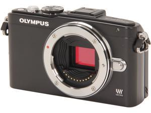 OLYMPUS E-PL5 (V205040BU000) Black Micro Four Thirds interchangeable lens system camera - Body