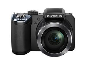 OLYMPUS SP-820UZ iHS Black 14 MP 40X Optical Zoom Digital Camera HDTV Output
