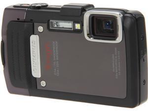 OLYMPUS TG-830 iHS V104130BU000 Black 16 MP Waterproof Shockproof Wide Angle Digital Camera HDTV Output